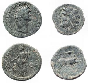 obverse: Lotti - Evo Antico. Lotto di 2 pezzi in Ae