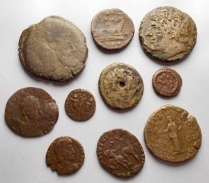 obverse: Lotti - Evo Antico. Insieme di 10 pezzi in Ae
