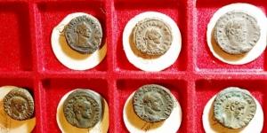 obverse: Lotti.Lotto di 7 Tetradracme Alessandrine da Gallieno a Diocleziano, mediamente BB.