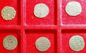 obverse: Lotti.Zecche Italiane.Lotto di 6 denari di Ancona, mediamente BB