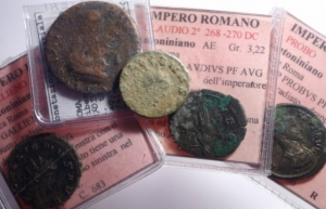 obverse: Lotti.Impero Romano.Lotto di 5 monete romane , mediamente BB.___