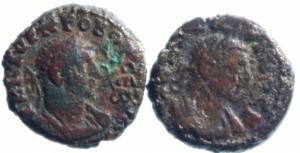 obverse: Lotti.Provincia Romana.Lotto di 2 tetradracme alessandrine.Mediamente qBB\MB.___