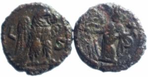 reverse: Lotti.Provincia Romana.Lotto di 2 tetradracme alessandrine.Mediamente qBB\MB.___
