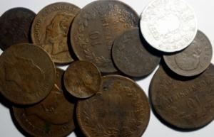 obverse: Lotti. Casa Savoia.Lotto di 13 monete di Vittorio Emanuele II e Umberto I, conservazione mediocre