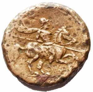 obverse: Mondo Greco - Medio Bronzo da catalogare. gr 17,8