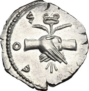 Reverse image of coin 325