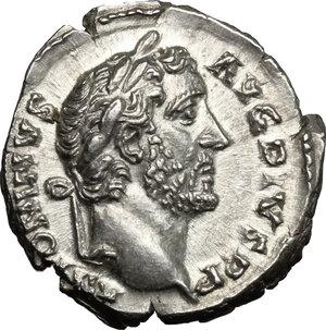 obverse: Antoninus Pius (138-161).. AR Denarius, 145-161 AD