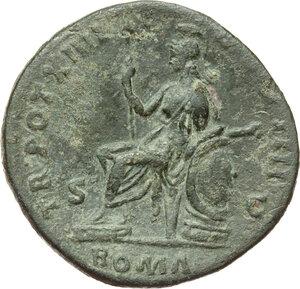 reverse: Antoninus Pius (138-161).. AE Sestertius, 150-151 AD