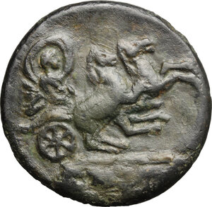 reverse: Faustina I, wife of Antoninus Pius (died 141 AD).. AE Medallion, Rome mint, after 141 AD