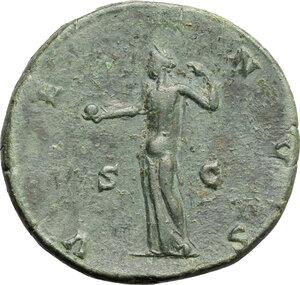 reverse: Lucilla, wife of Lucius Verus (died 183 AD).. AE Sestertius