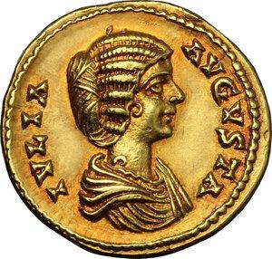 obverse: Julia Domna, wife of Septimius Severus (died 217 AD).. AV Aureus, Laodicea ad Mare mint, c. 196-202 AD