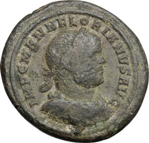 obverse: Florian (276 AD).. AE Medallion, Rome mint, 276 AD