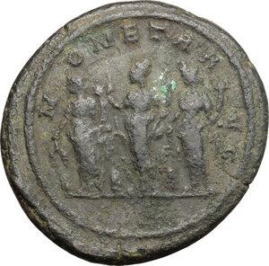 reverse: Florian (276 AD).. AE Medallion, Rome mint, 276 AD