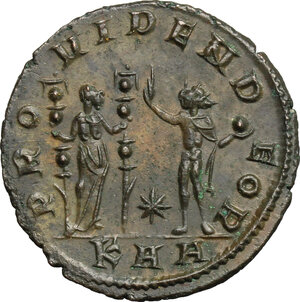 reverse: Florian (276 AD).. BI Antoninanus, Serdica mint