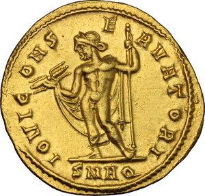 reverse: Galerius as Caesar (293-305).. AV Aureus, Aquileia mint, 303-305 AD