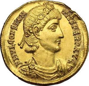 obverse: Constantius II (337-361).. AV Solidus, Nicomedia mint, 340-350 AD