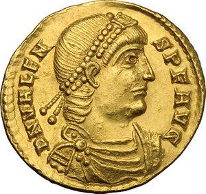 obverse: Valens (364-378).. AV Solidus, Treveri mint