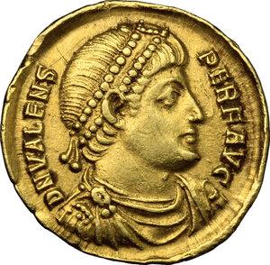 obverse: Valens (364-378).. AV Solidus, Antioch mint, 364 AD