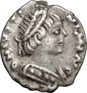obverse: Ostrogothic Italy, Athalaric (526-534).. AR Quarter Siliqua in the name of Justinian I, Ravenna mint