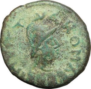 obverse: Ostrogothic Italy, Athalaric (526-534).. AE 20 Nummi (Half Follis). Rome mint