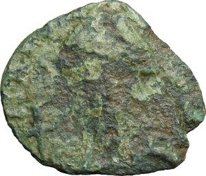 obverse: Lombardic Italy. Aistulf (749-756).. AE Follis, Ravenna mint, struck 751-752 AD