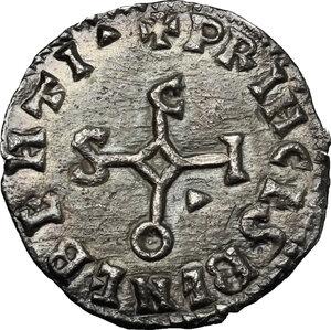obverse: The Lombards at Beneventum. Sico (817-832).. AR Denarius