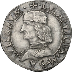 obverse: Carmagnola.  Ludovico II di Saluzzo (1475-1504).. Cavallotto senza sigle