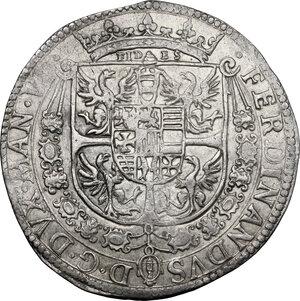 obverse: Casale.  Ferdinando Gonzaga (1612-1626). Tallero