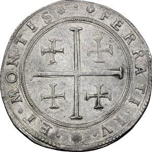 reverse: Casale.  Ferdinando Gonzaga (1612-1626). Tallero