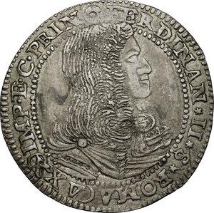 obverse: Castiglione delle Stiviere.  Ferdinando II Gonzaga (1680-1723). Da 25 soldi 1682