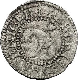 obverse: Ferrara.  Borso d Este (1450-1471). Quattrino anonimo
