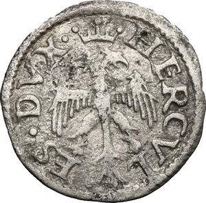 obverse: Ferrara.  Ercole I d Este (1471-1505). Da 3 quattrini