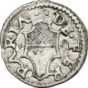 reverse: Ferrara.  Ercole I d Este (1471-1505). Da 3 quattrini
