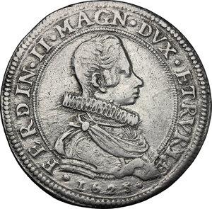 obverse: Firenze.  Ferdinando II (1621-1670). Piastra 1625/1626 (6 rovesciati)