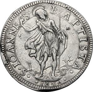 reverse: Firenze.  Ferdinando II (1621-1670). Piastra 1625/1626 (6 rovesciati)