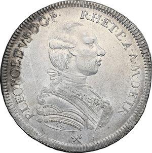 obverse: Firenze.  Pietro Leopoldo di Lorena (1765-1790). Francescone 1786