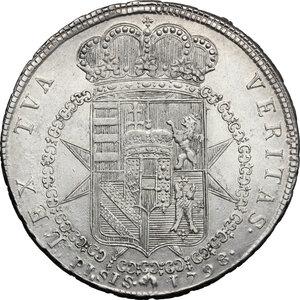 reverse: Firenze.  Ferdinando III di Lorena (I periodo 1790-1801).. Francescone 1798