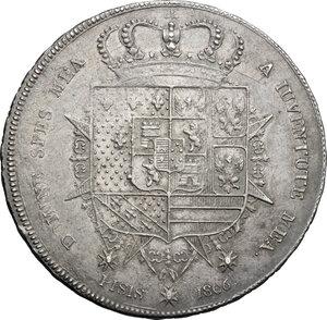 reverse: Firenze.  Carlo Ludovico di Borbone e Maria Luigia reggente (1803-1807). Francescone 1806