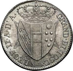 obverse: Firenze.  Leopoldo II di Lorena (1824-1859). Mezzo fiorino 1827