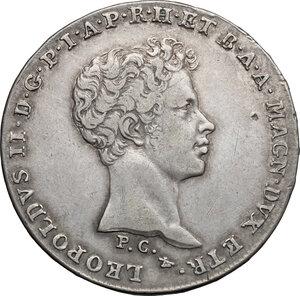 obverse: Firenze.  Leopoldo II di Lorena (1824-1859). Mezzo francescone 1829
