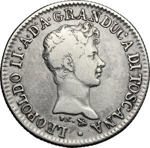 obverse: Firenze.  Leopoldo II di Lorena (1824-1859). Fiorino 1830