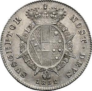 reverse: Firenze.  Leopoldo II di Lorena (1824-1859). Mezzo paolo 1832