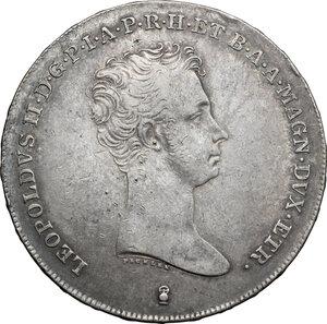 obverse: Firenze.  Leopoldo II di Lorena (1824-1859). Francescone 1839