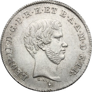obverse: Firenze.  Leopoldo II di Lorena (1824-1859). Paolo 1842