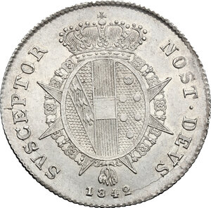 reverse: Firenze.  Leopoldo II di Lorena (1824-1859). Paolo 1842