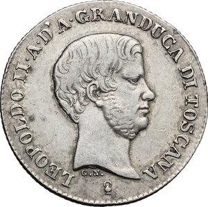 obverse: Firenze.  Leopoldo II di Lorena (1824-1859). Fiorino 1848