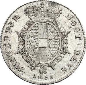 reverse: Firenze.  Leopoldo II di Lorena (1824-1859). Mezzo paolo 1853