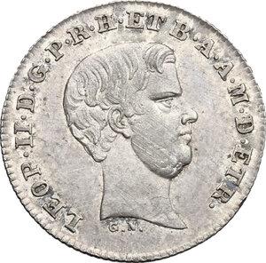 obverse: Firenze.  Leopoldo II di Lorena (1824-1859). Mezzo paolo 1856