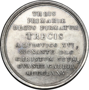 Reverse image of coin 820