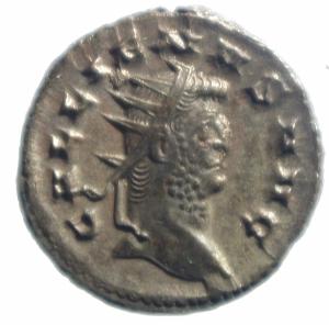 obverse: Impero Romano. Gallieno. 253-268 d.C. Antoniniano. Ae. D/ GALLIENVS AVG. R/ LAETITIA AVG la Letizia verso sinistra con corona. RIC.489. Peso 4,05 gr. Diametro 22,00 mm. SPL